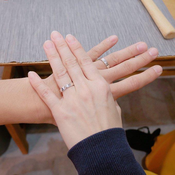 記念日のペアリングや結婚指輪に