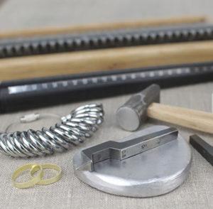 指輪を手作り(結婚指輪)