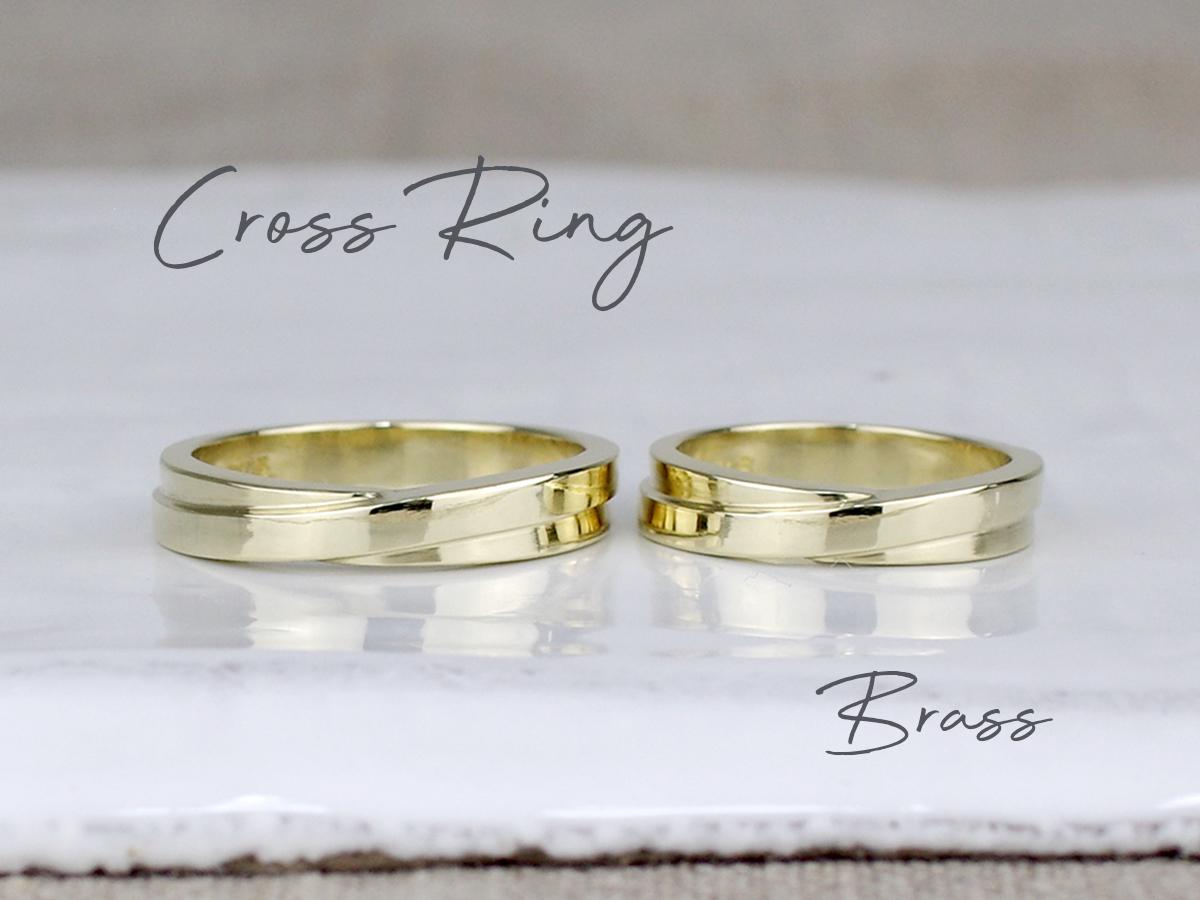 cross ring brass
